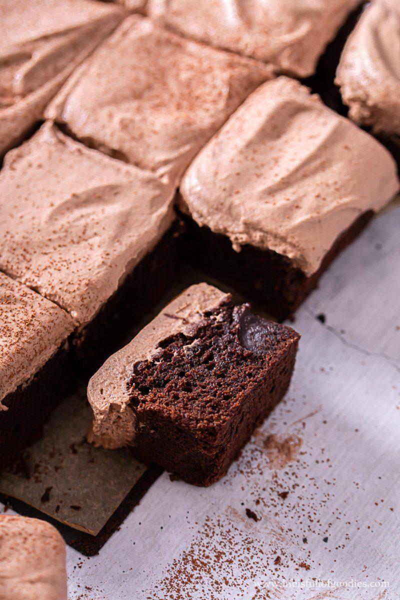 Die besten Brownies mit dem einfachsten Frosting