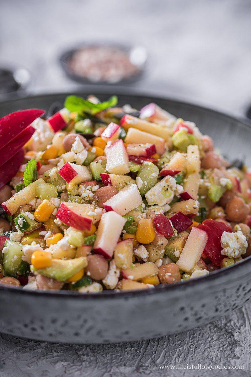 Apfel Feta Salat