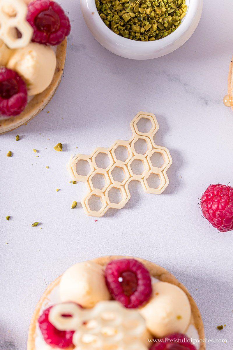 Honigmousse Törtchen mit Himbeeren und Verlosung eines 3D Schoko Druckers
