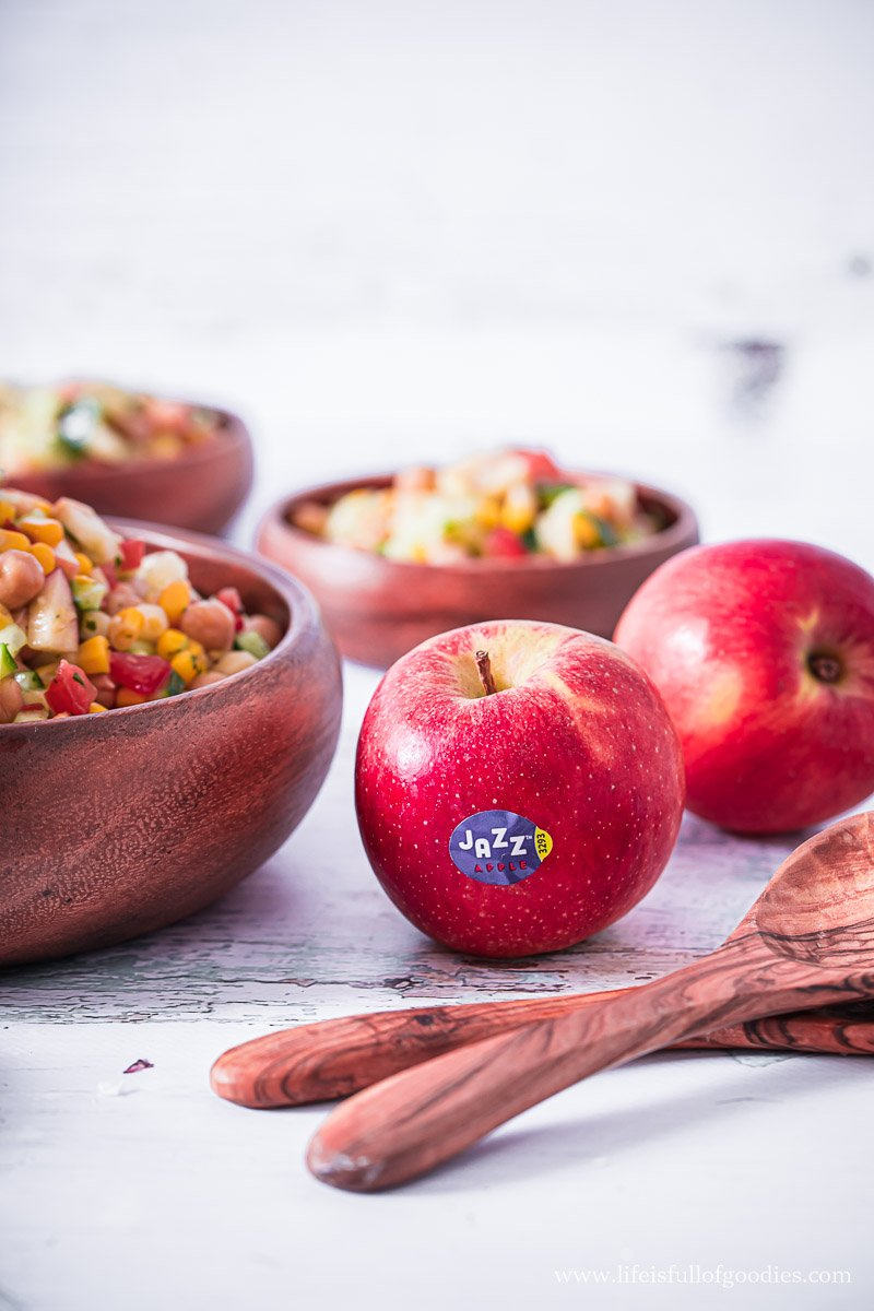 Kichererbsen Apfel Salat