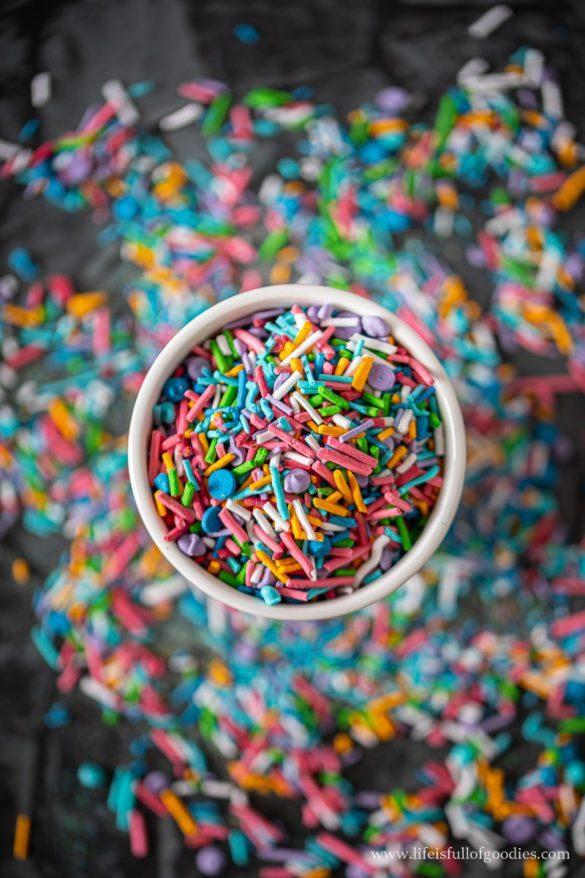 Selbstgemachte Zuckerstreusel