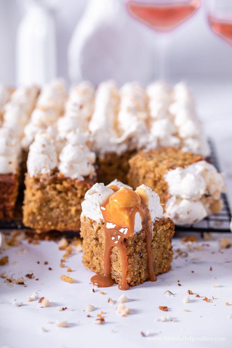 Karottenkuchen mit Zimtcreme