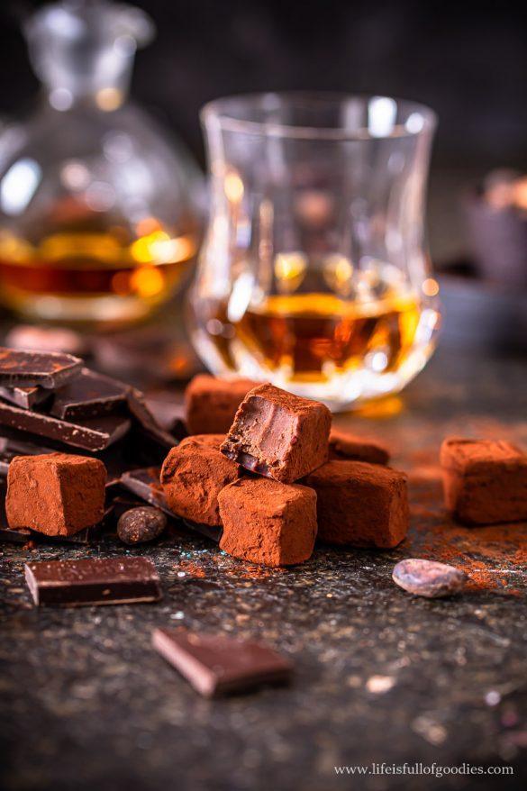 Whisky Schoko Trüffel