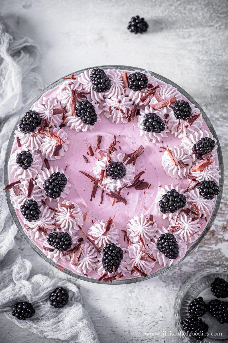Brombeer Tiramisu - eins der besten Desserts!