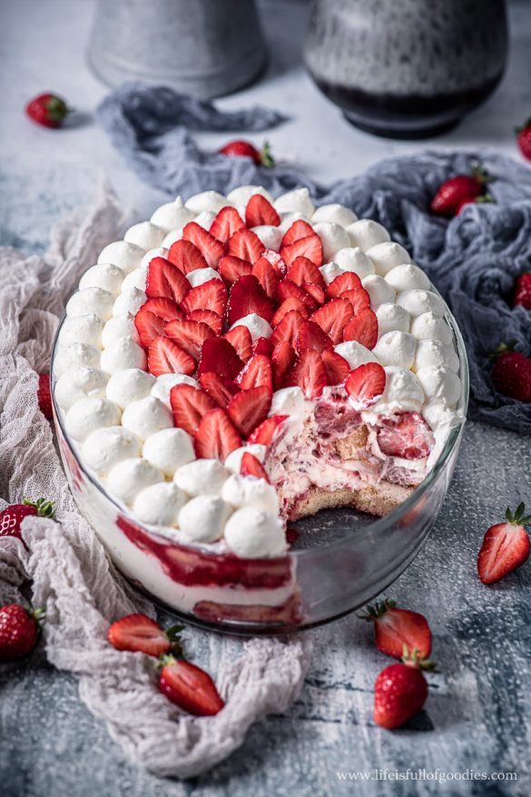 Das beste Erdbeer Tiramisu